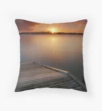 Auckland Sunrise Throw Pillow