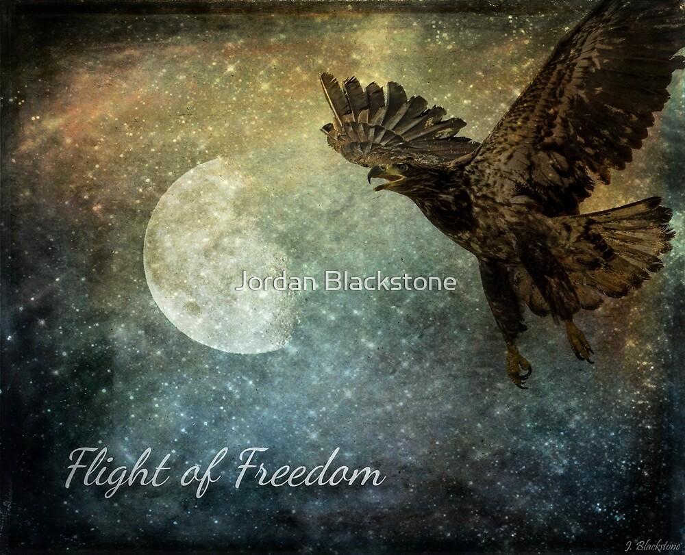 Flight Of Freedom - Image Art by Jordan Blackstone