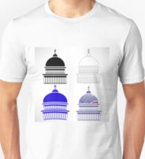 Set of Capitol Icons Isolated on White Background T-Shirt