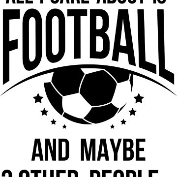I care about Football by navi-singh