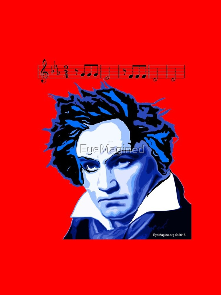 Beethoven and The Fifth  by EyeMagined