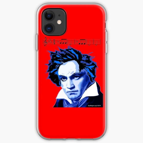 Beethoven and The Fifth  iPhone Soft Case