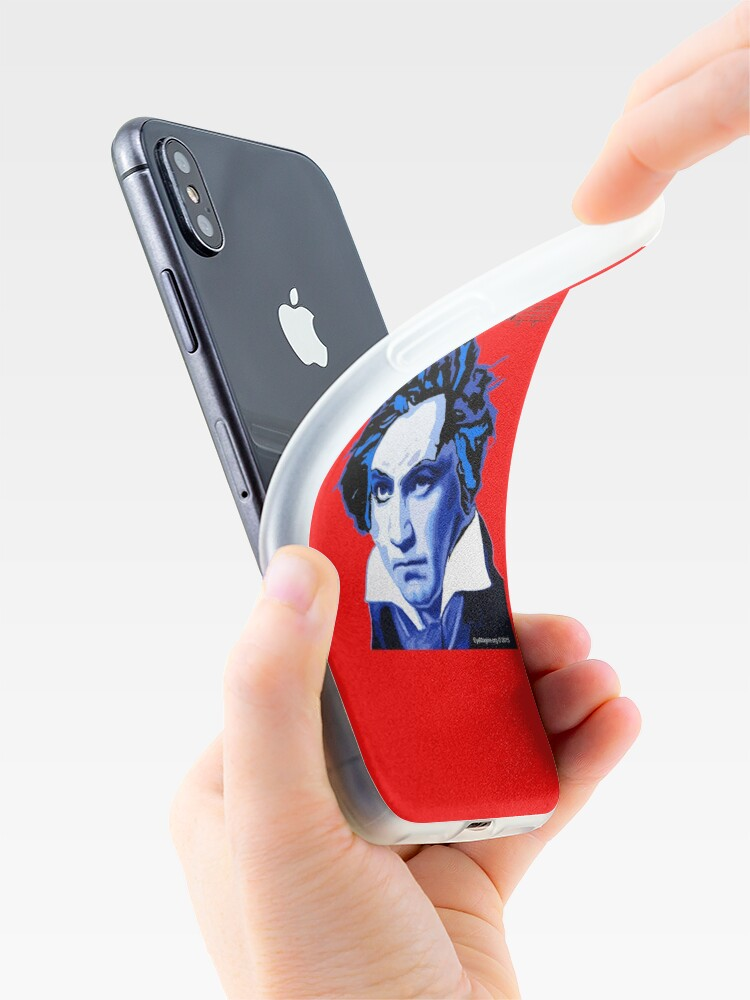 Alternate view of Beethoven and The Fifth  iPhone Case & Cover