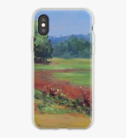 Summer Refuge Original Plein Air Painting iPhone Case