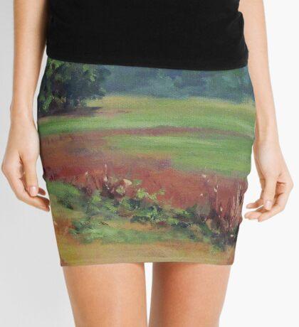 Summer Refuge Original Plein Air Painting Mini Skirt