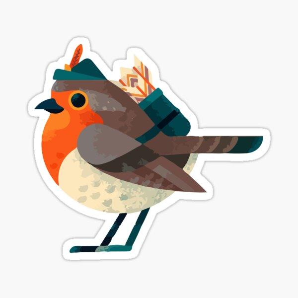 Robin Hood Bird Sticker