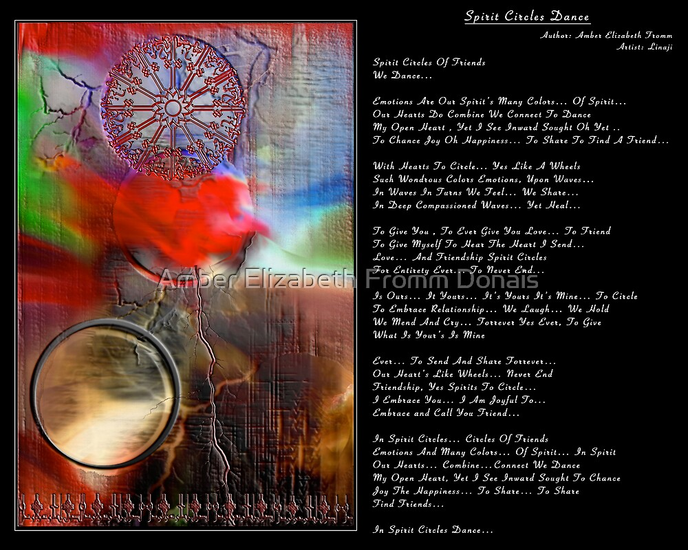 Spirit Circles Dance... by Amber Elizabeth Fromm Donais