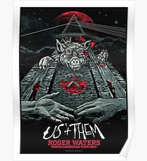 Roger Waters, Us + Them North American Tour 2017 Poster