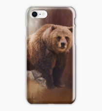 Great Strength - Grizzly Bear Art iPhone Case/Skin