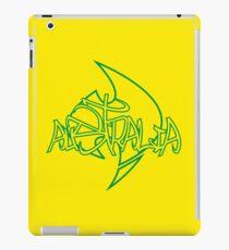 Australia Graffiti over Logo 1 iPad Case/Skin