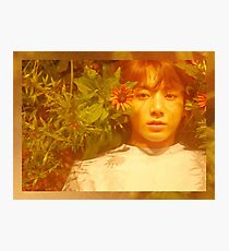 Jungkook Photographic Print