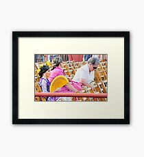 Triana waiting Framed Print