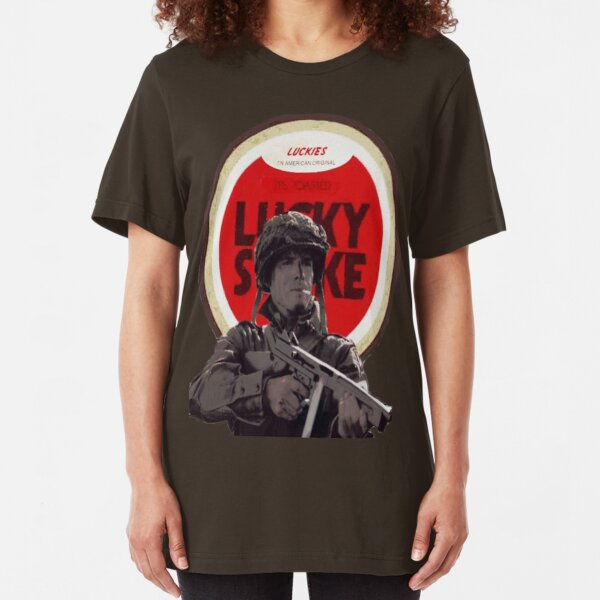 Ronald Speirs Cigarette  Slim Fit T-Shirt