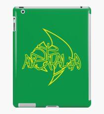 Australia Graffiti over Logo 2 iPad Case/Skin