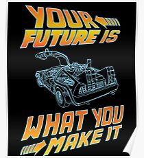 Your future is what you make it Poster