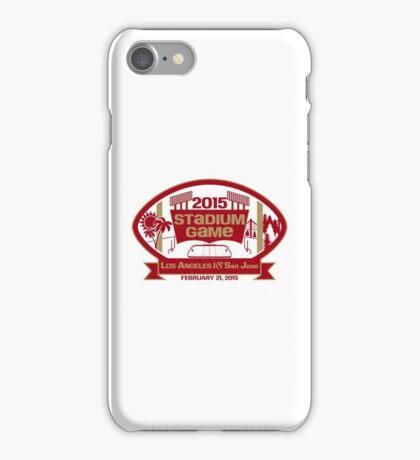 2015 SF Stadium Game iPhone Case/Skin