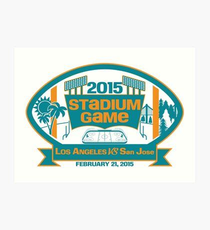 2015 SJ Stadium Game Art Print