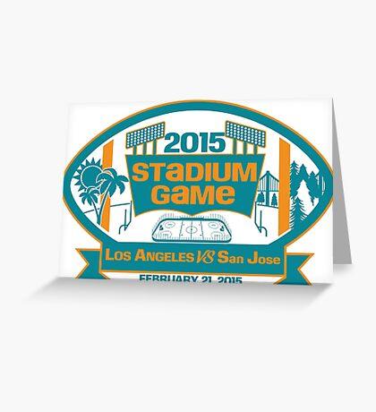 2015 SJ Stadium Game Greeting Card