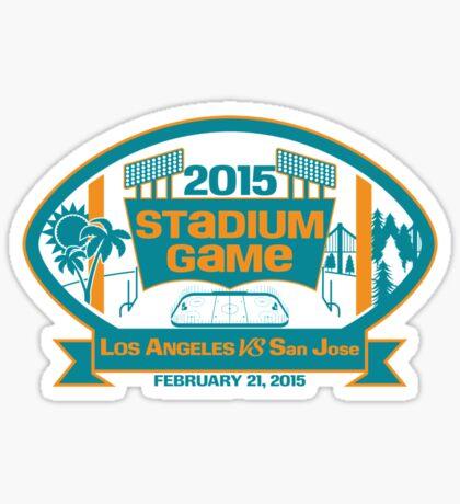 2015 SJ Stadium Game Sticker