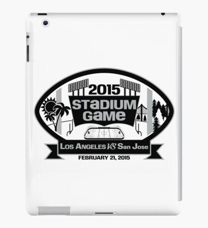 2015 LA Stadium Game - Black Text iPad Case/Skin
