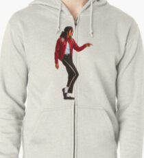 Michael jackson is the new t-shirt Zipped Hoodie