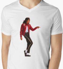 Michael jackson is the new t-shirt Men's V-Neck T-Shirt