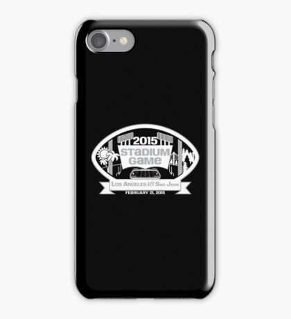 2015 Stadium Game - White Text iPhone Case/Skin