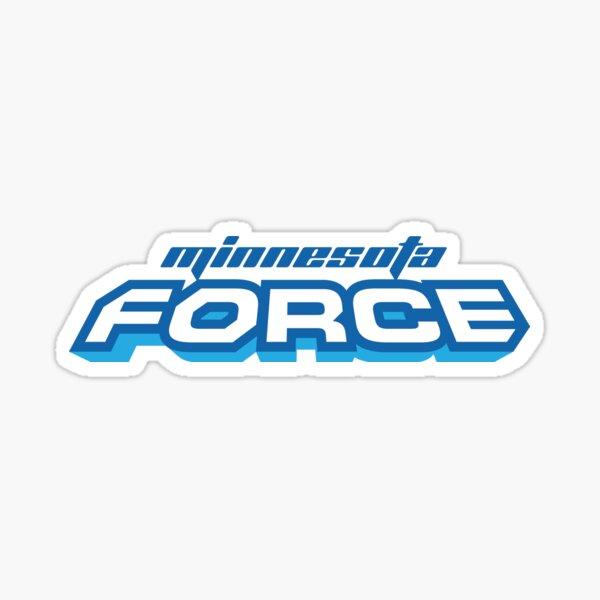 Minnesota Force Text Sticker