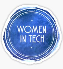 Women in Tech Sticker