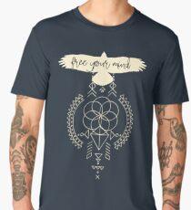 Sacred Geometry -  free your mind Men's Premium T-Shirt