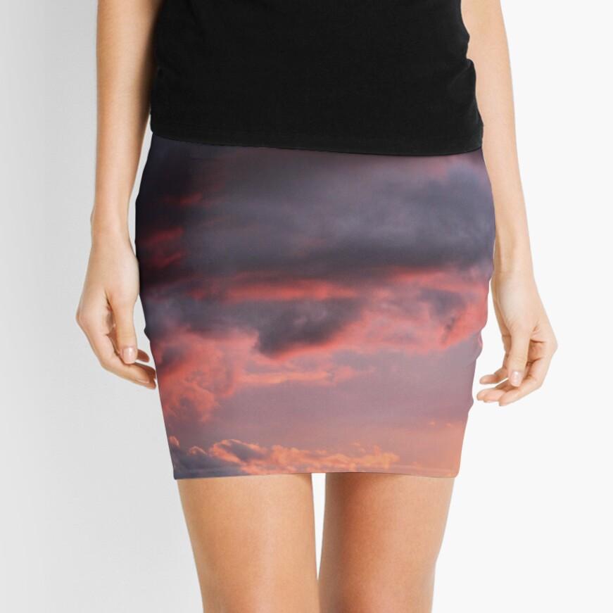 Sunset Atlas Mini Skirt