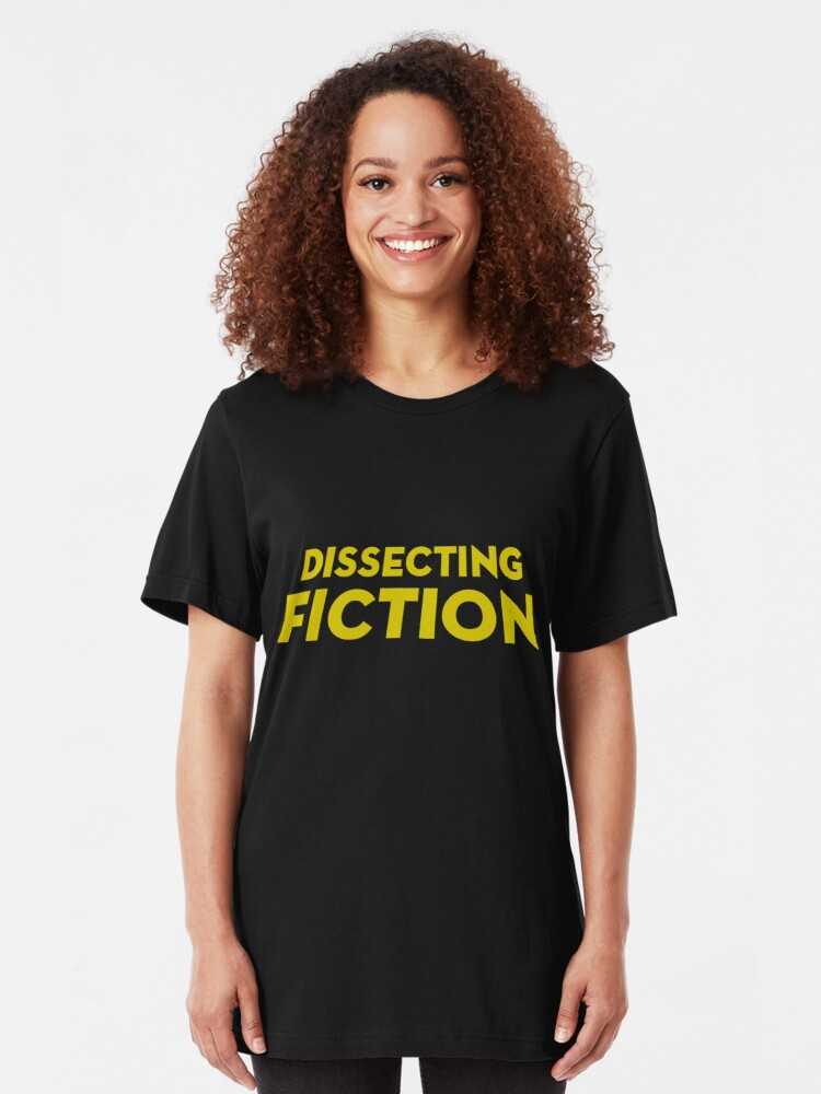 Alternate view of Dissecting Fiction Slim Fit T-Shirt
