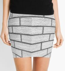 Just another brick in the wall Mini Skirt