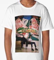 Basquiat met Andy Warhol Long T-Shirt