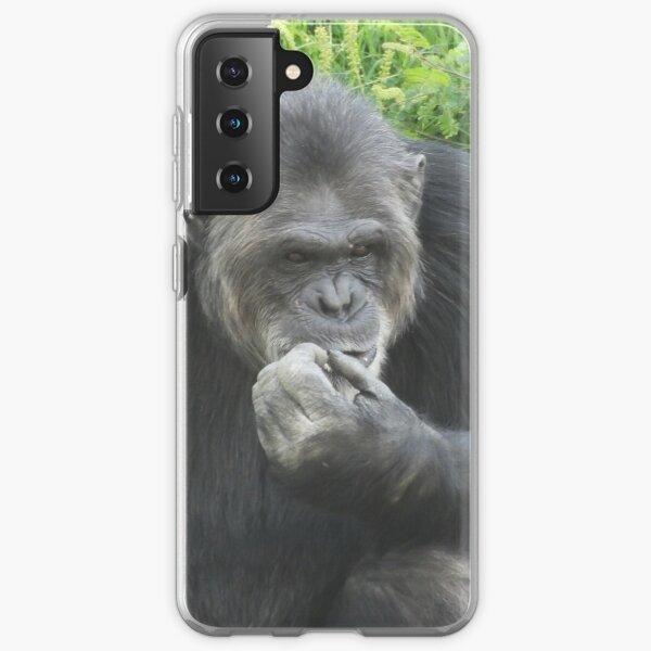 The old chimpanzee Samsung Galaxy Soft Case