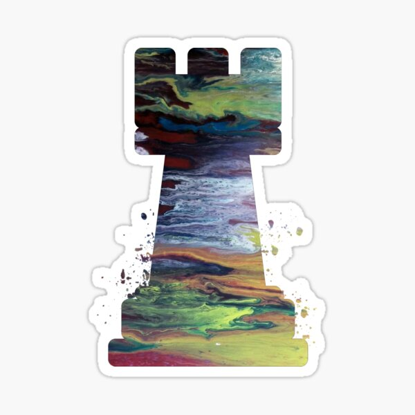 Chess - Rook Sticker