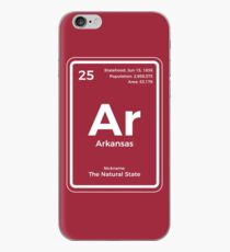 Arkansas Periodic Table of the Elements Design iPhone Case