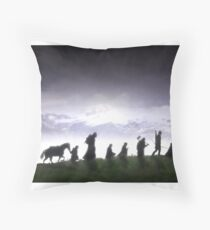 Fellowship in the Sun Throw Pillow