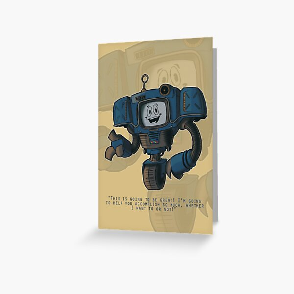 Yes Man - Fallout: New Vegas Greeting Card