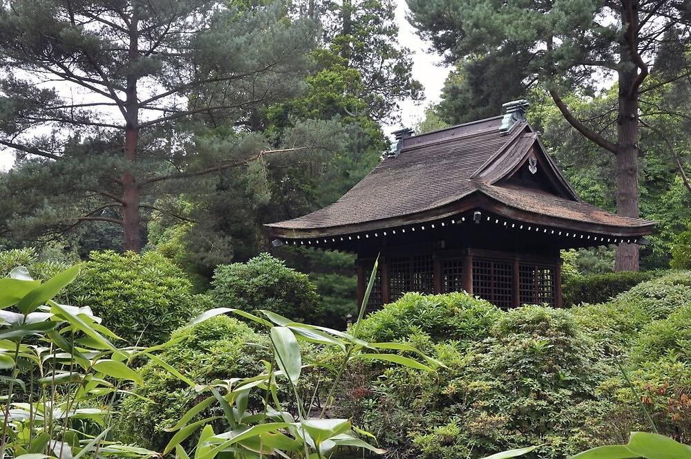 Japanese Pagoda - Tatton Park by Chris Monks