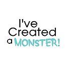 I've Created a Monster - Aqua Adult v2 by Jessica Cushen