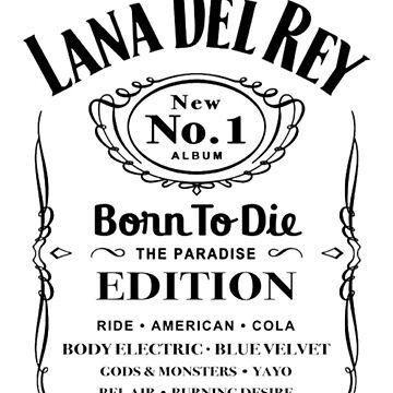 Lann Del Rey Born To Die by TomGBR