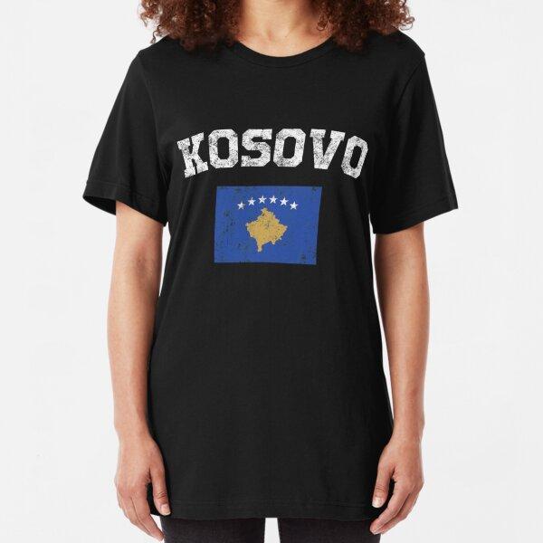 Kosovo City Vintage Long Sleeve/T-shirt