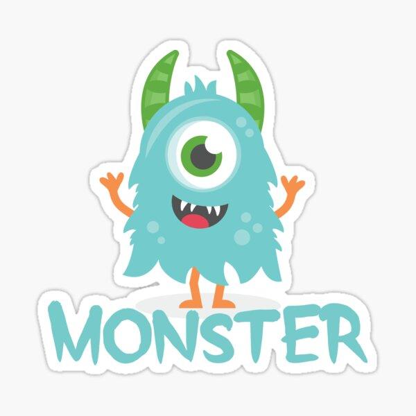 Monster - Aqua Child v1 Sticker
