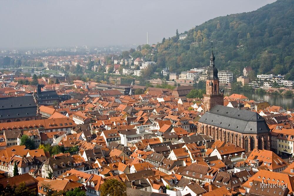Downtown Heidelberg by MrNK4rd