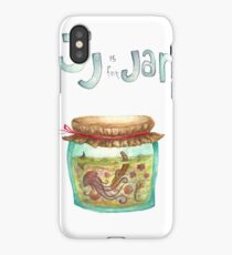 J is for Jar iPhone Case
