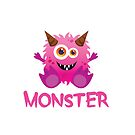 Monster - Pink Child by Jessica Cushen
