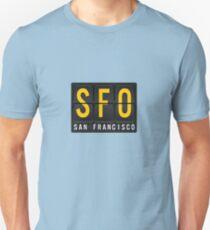 SFO - San Francisc Airport Code T-Shirt