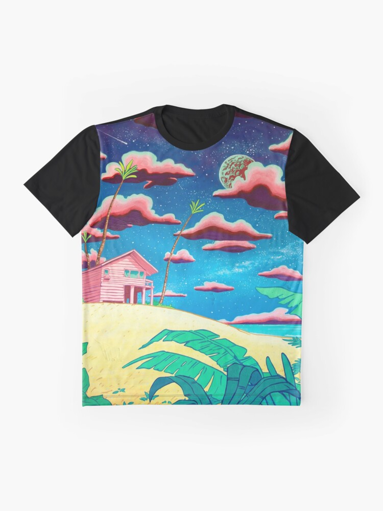 Alternate view of bungalow Graphic T-Shirt