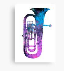 euphonium music Canvas Print